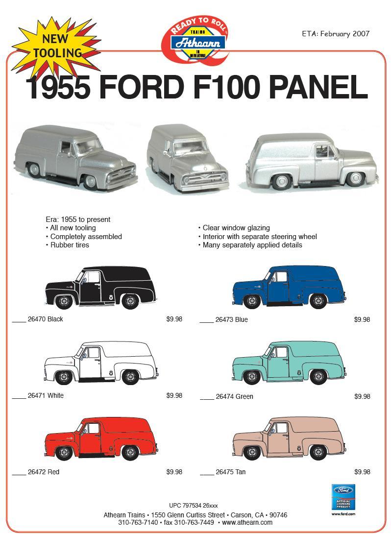 HO 1955 Ford car