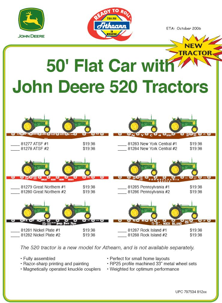 HO 140- John Deere 50