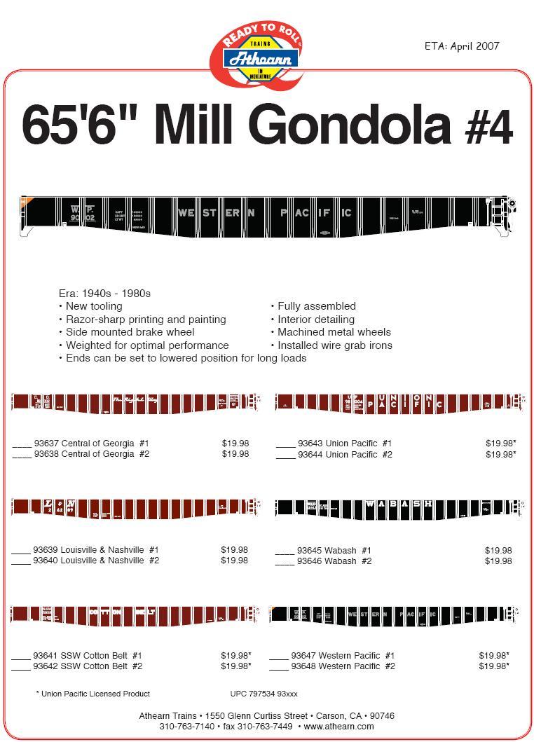 HO Mill Gonds