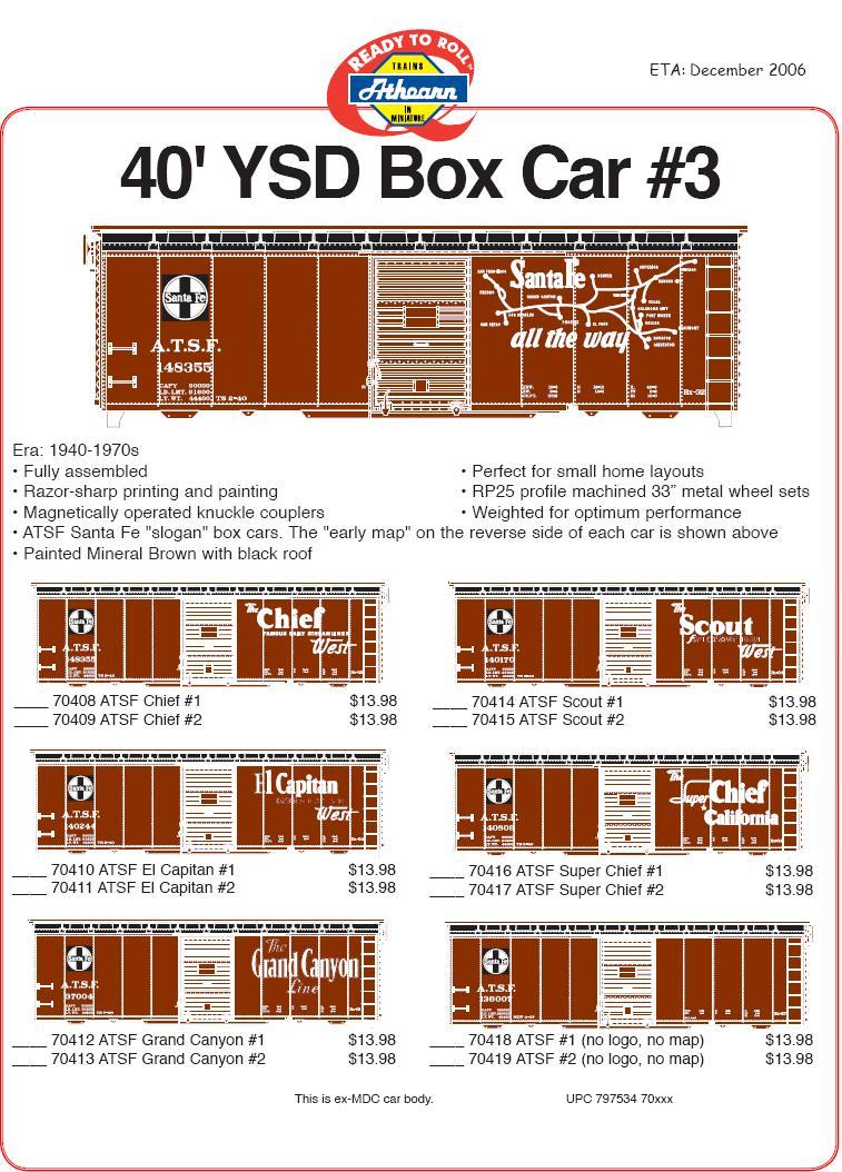 HO YSD boxcar 3