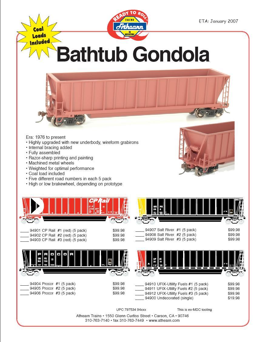 HO 140- gondolas