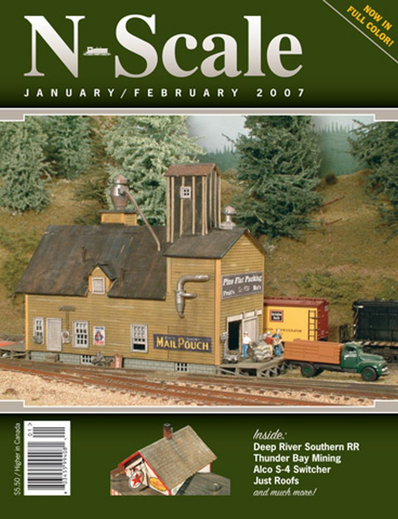 N Scale Mag Jan Feb 07 Issue