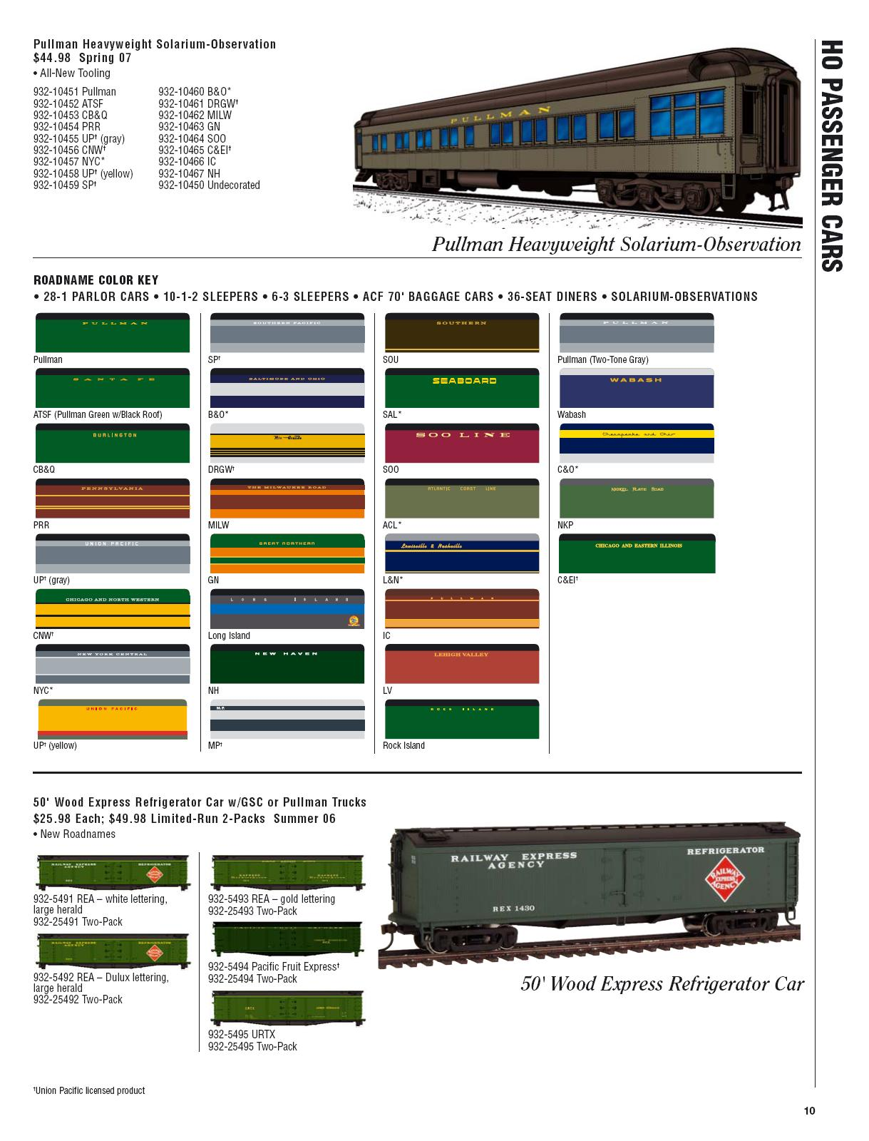 Walthers 2006 Cataloge Passenger page 2