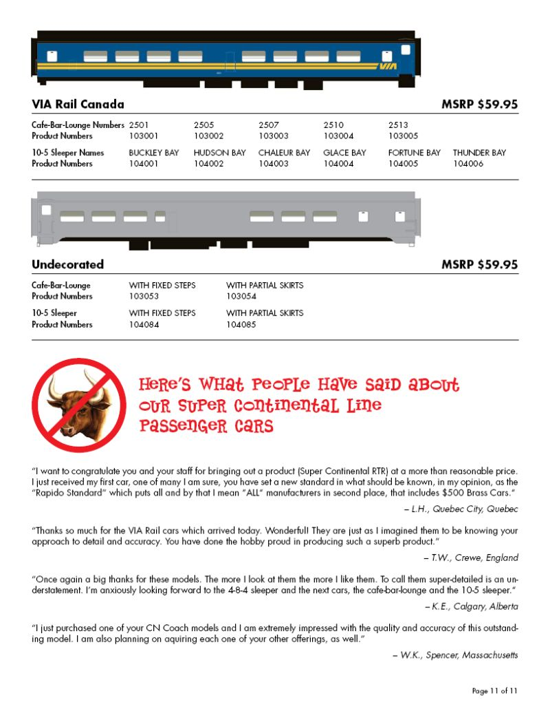 Rapido Flyer Nov 2006 page 11