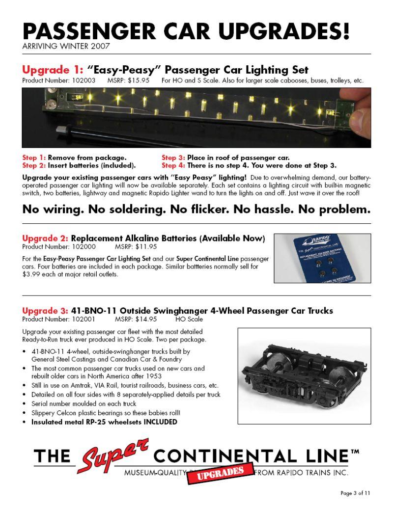 Rapido Flyer Nov 2006 page 3